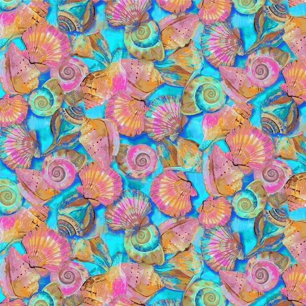 Fabulous Flamingos 208943 Shells Turq