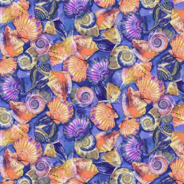 Fabulous Flamingos 208944 Shells Purple