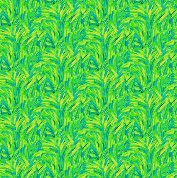 Fabulous Flamingos 208956 Abstract Green/Yellow