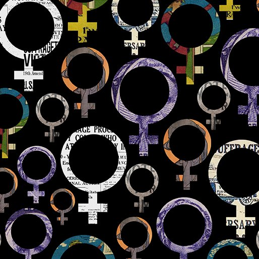 Woman Power 12317-99 Venus Symbol