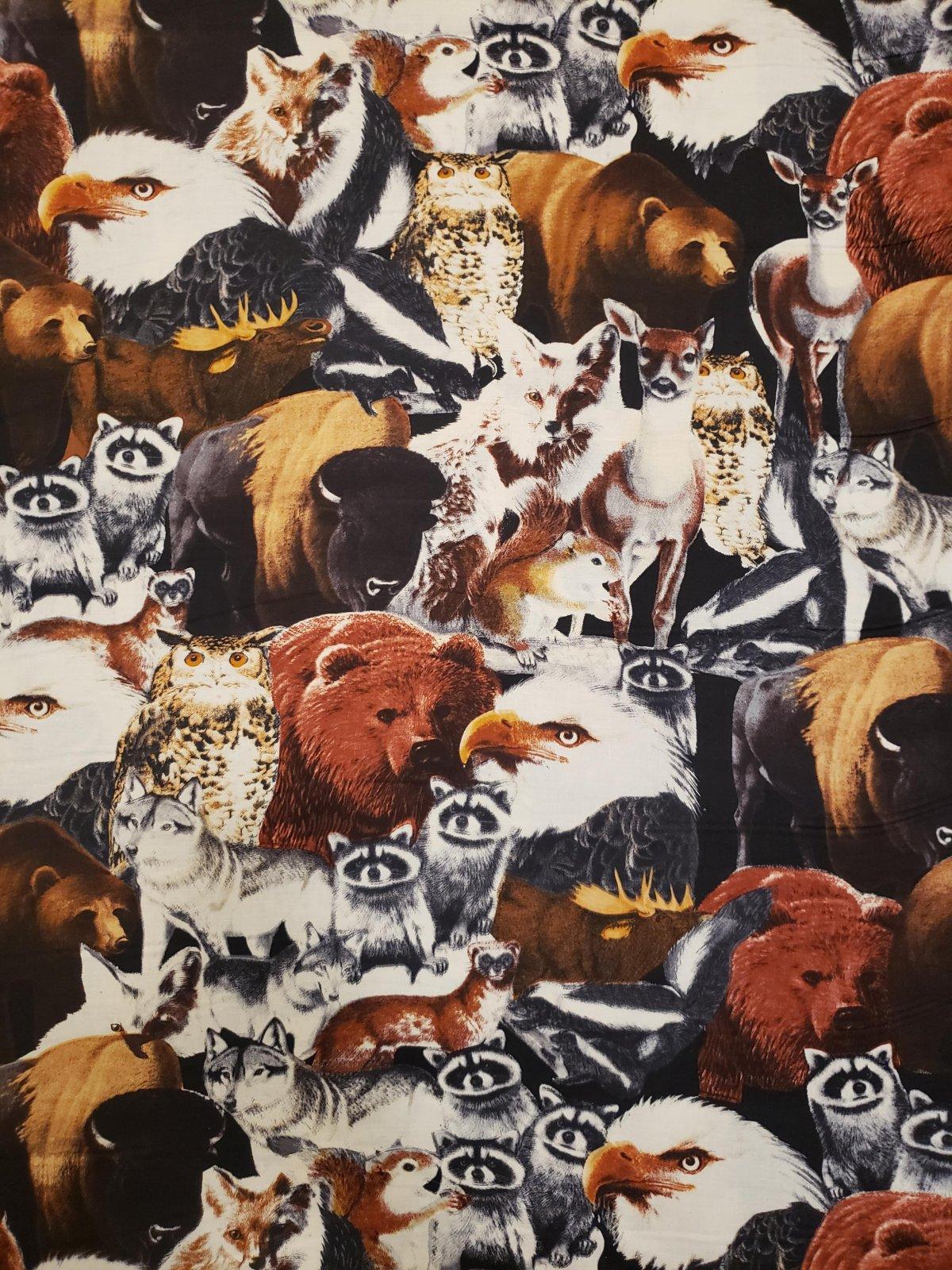 Woodland Animals 1238 Packed