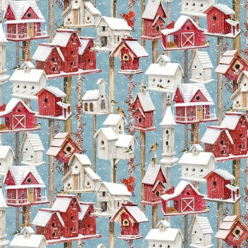 Sheltering Snow 1301-81 Birdhouses