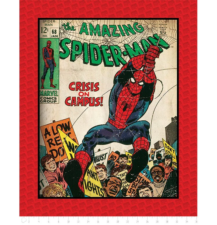 Marvel Comics III 13020310 Spiderman Panel