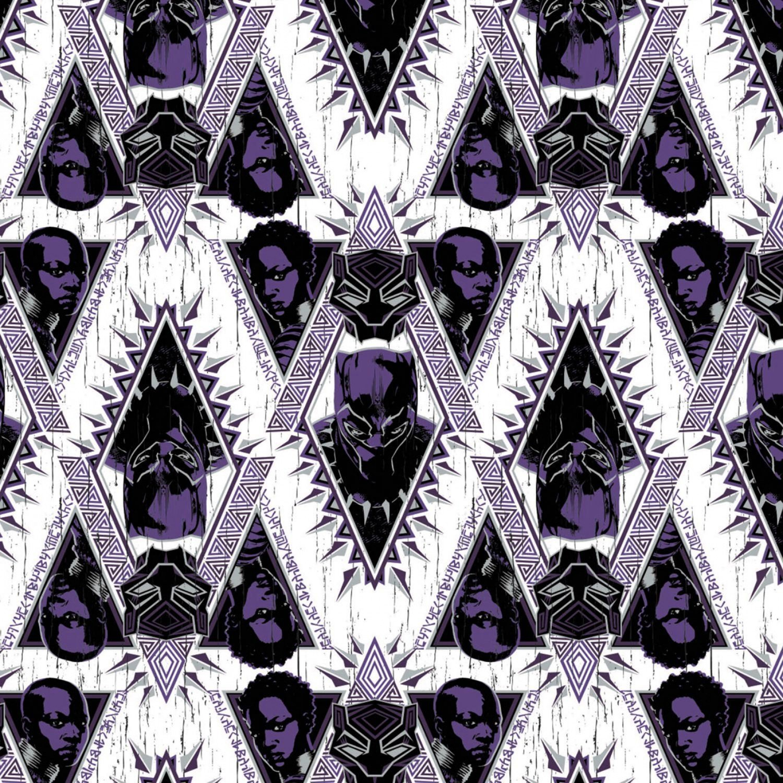 Black Panther 13020441-02 Heroes Purple