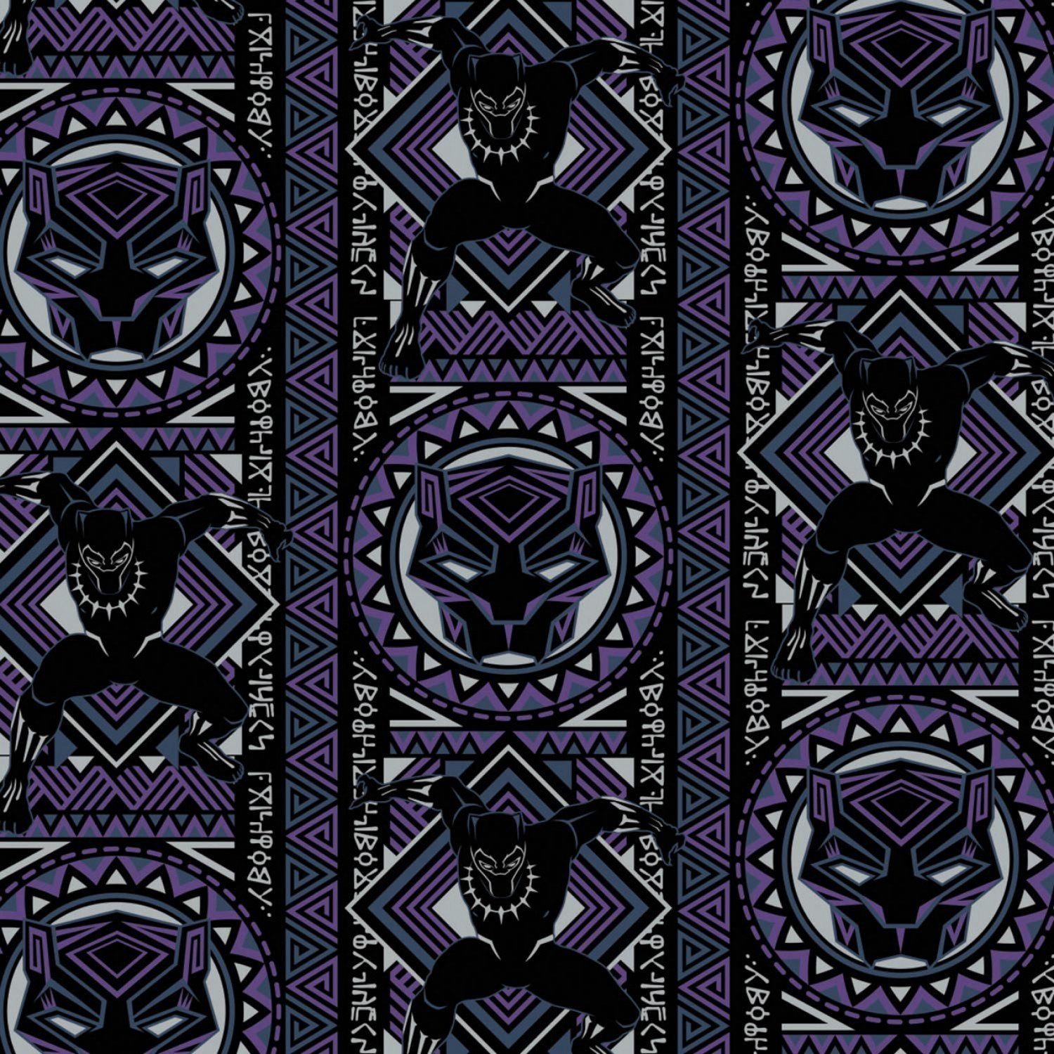Black Panther 13020446-02 Mosaic Purple