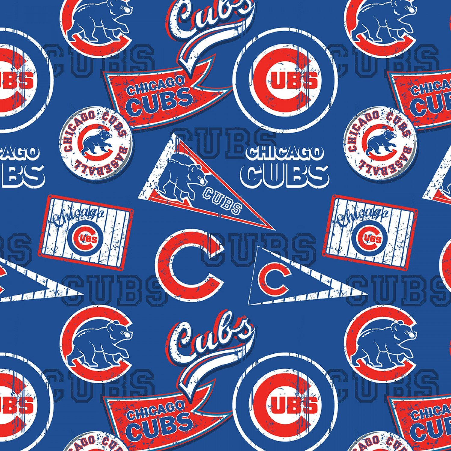 MLB Chicago Cubs 14414B Pennants