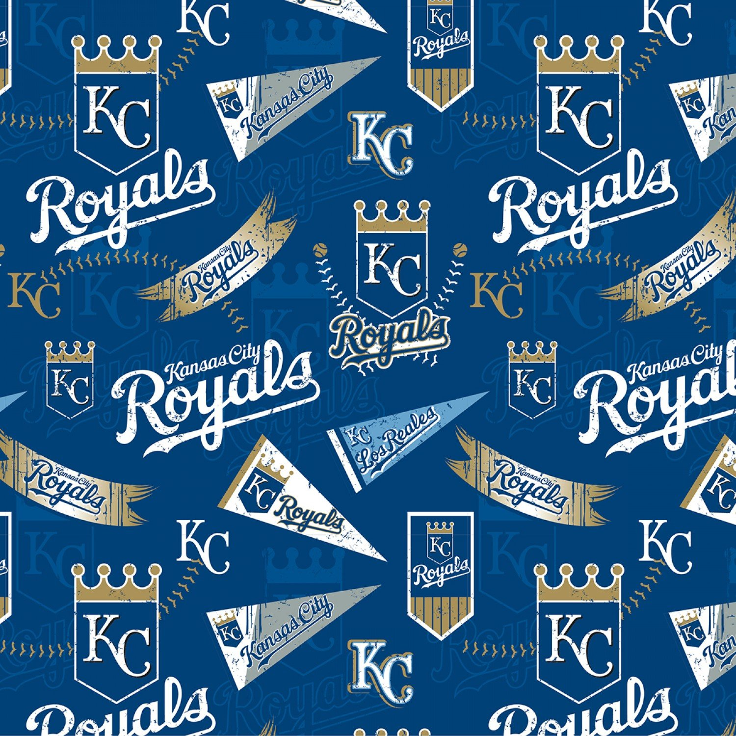 MLB Kansas City Royals 14417B Pennants