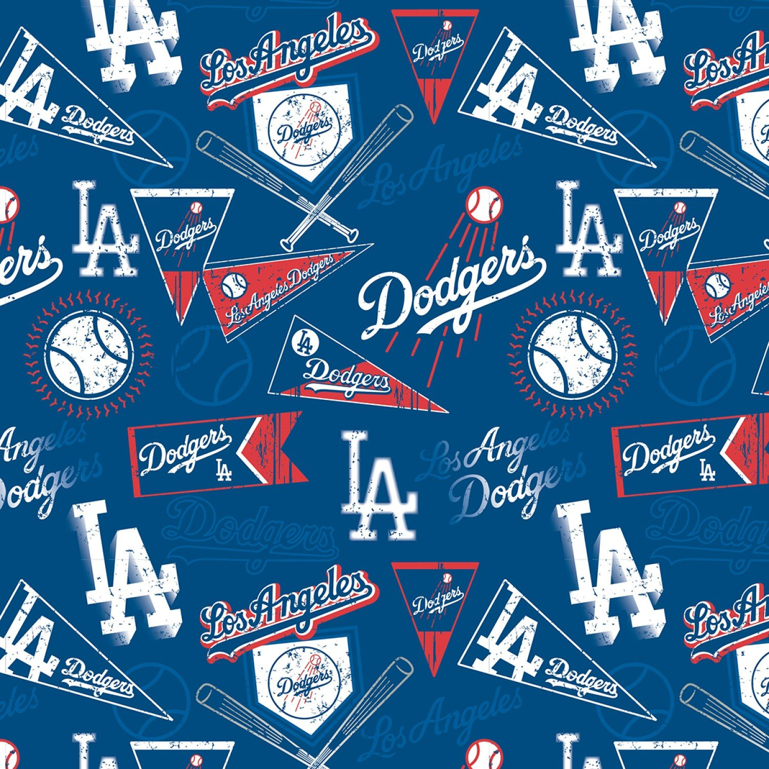 MLB Los Angeles Dodgers 14418B Pennants