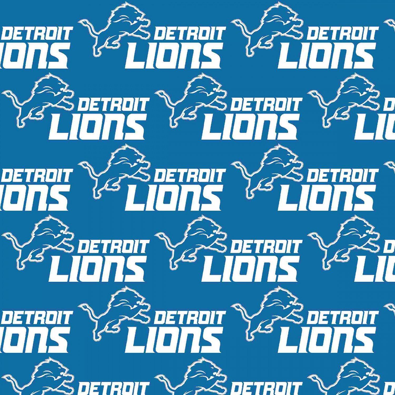 NFL Logo Detroit Lions 14727 Blue