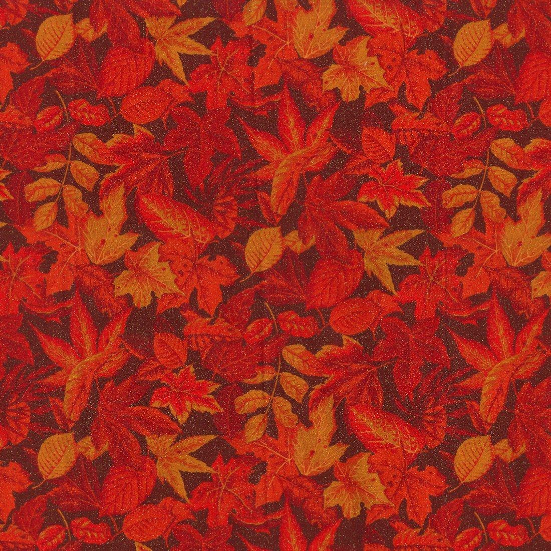 Glitter Autumn Leaves 15178