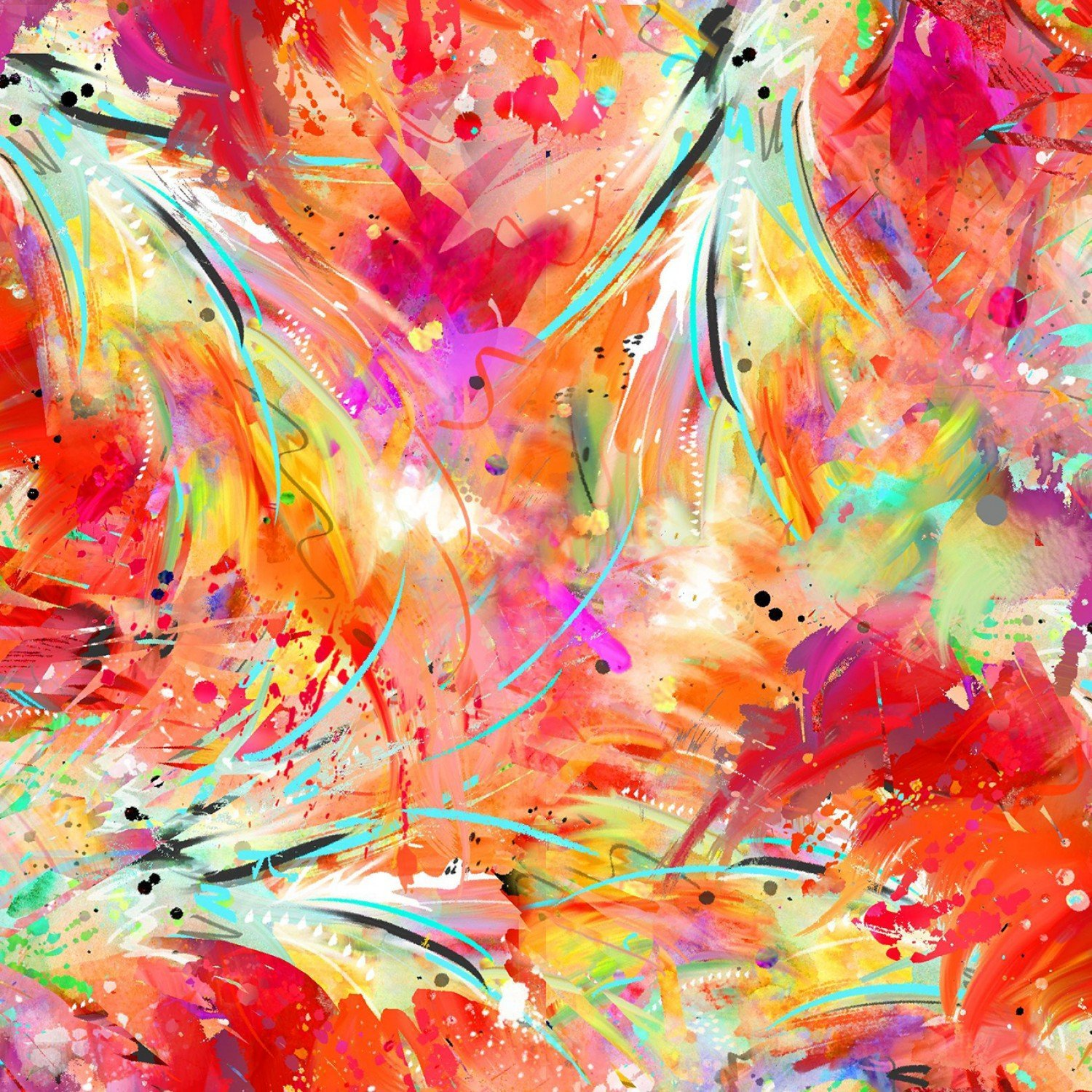 Sassier Animals 15993 Abstract Feathers