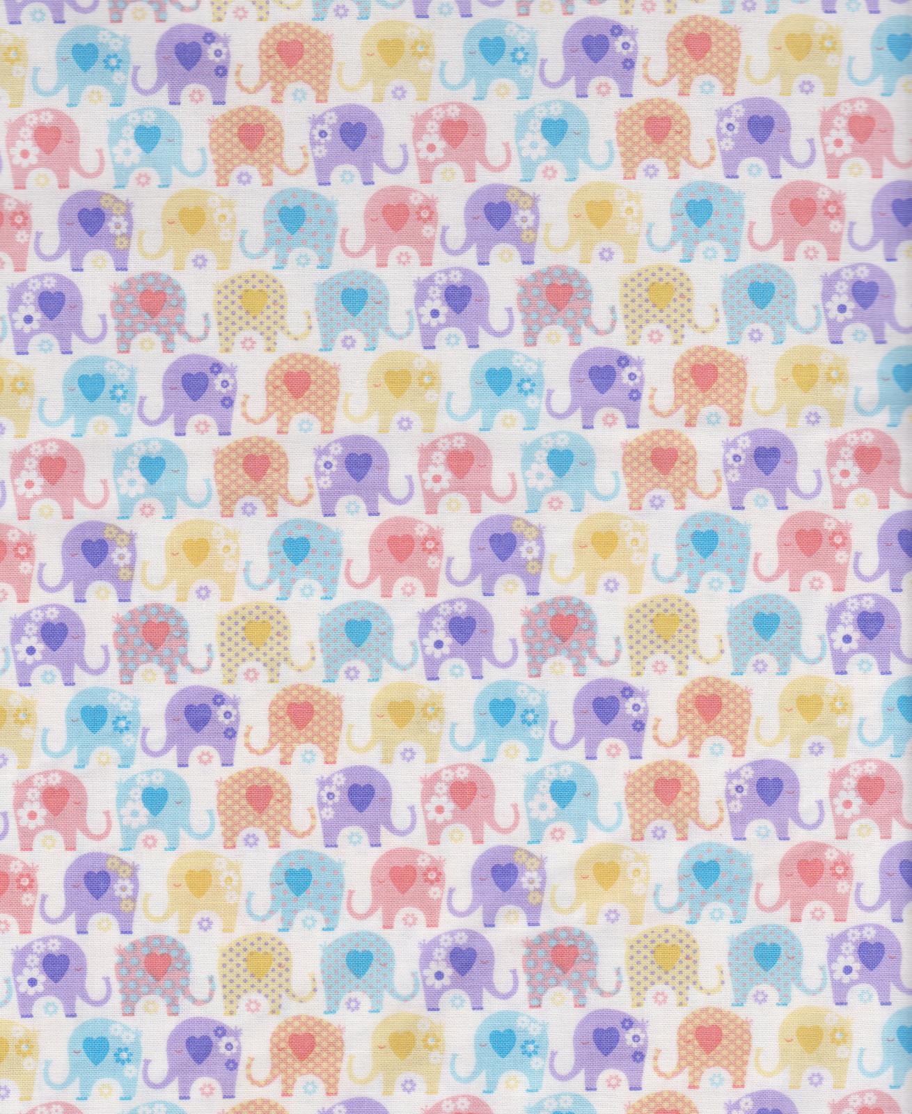 Elephants 16423-V Yellow
