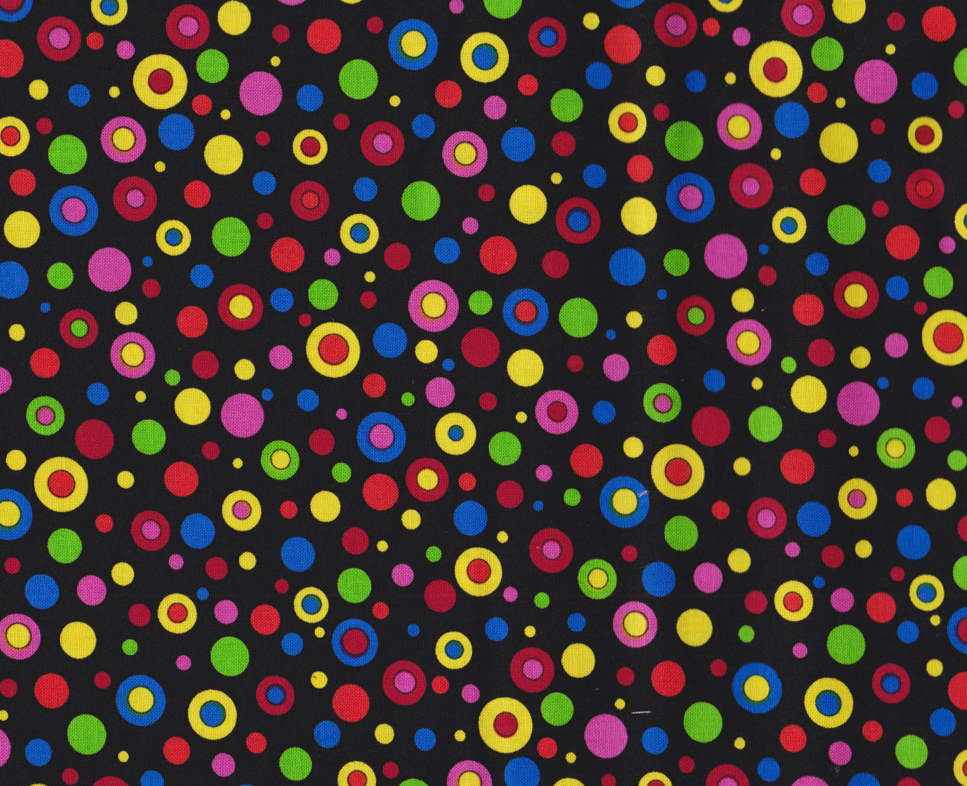 Multi Circles 16527 Black