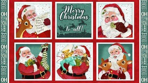 Jolly Ole Soul 1652-88 Santa Panel