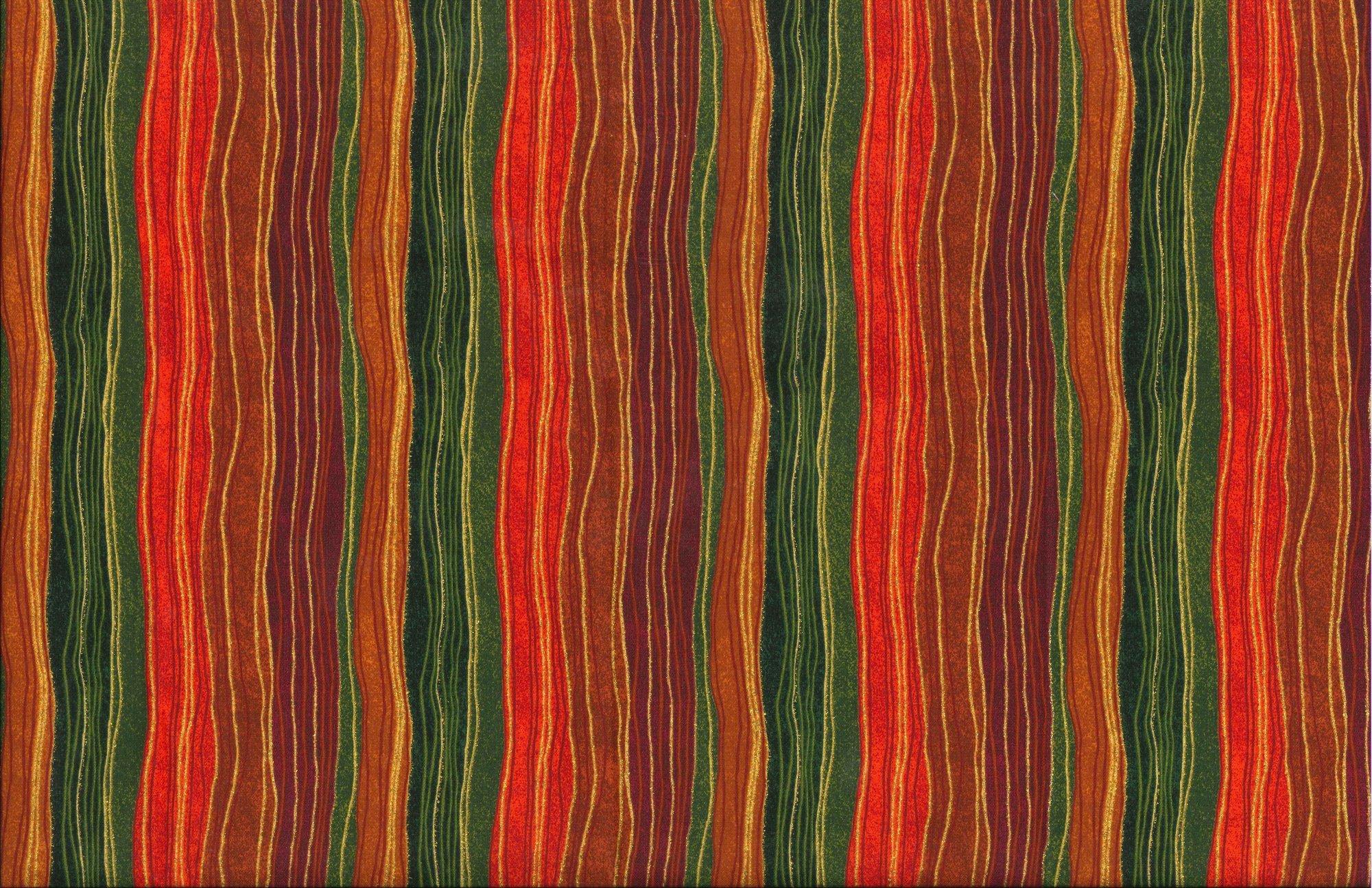 Autumn Glitter Stripe 17006