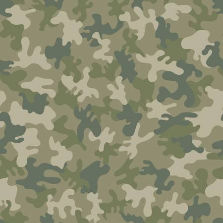 Camo 1723 Forest Green