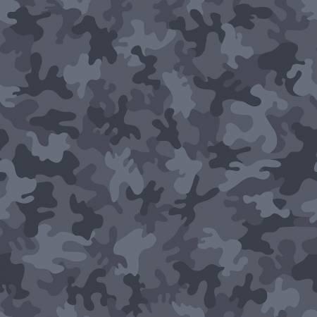 Camo 1723 Ocean Blue Grey