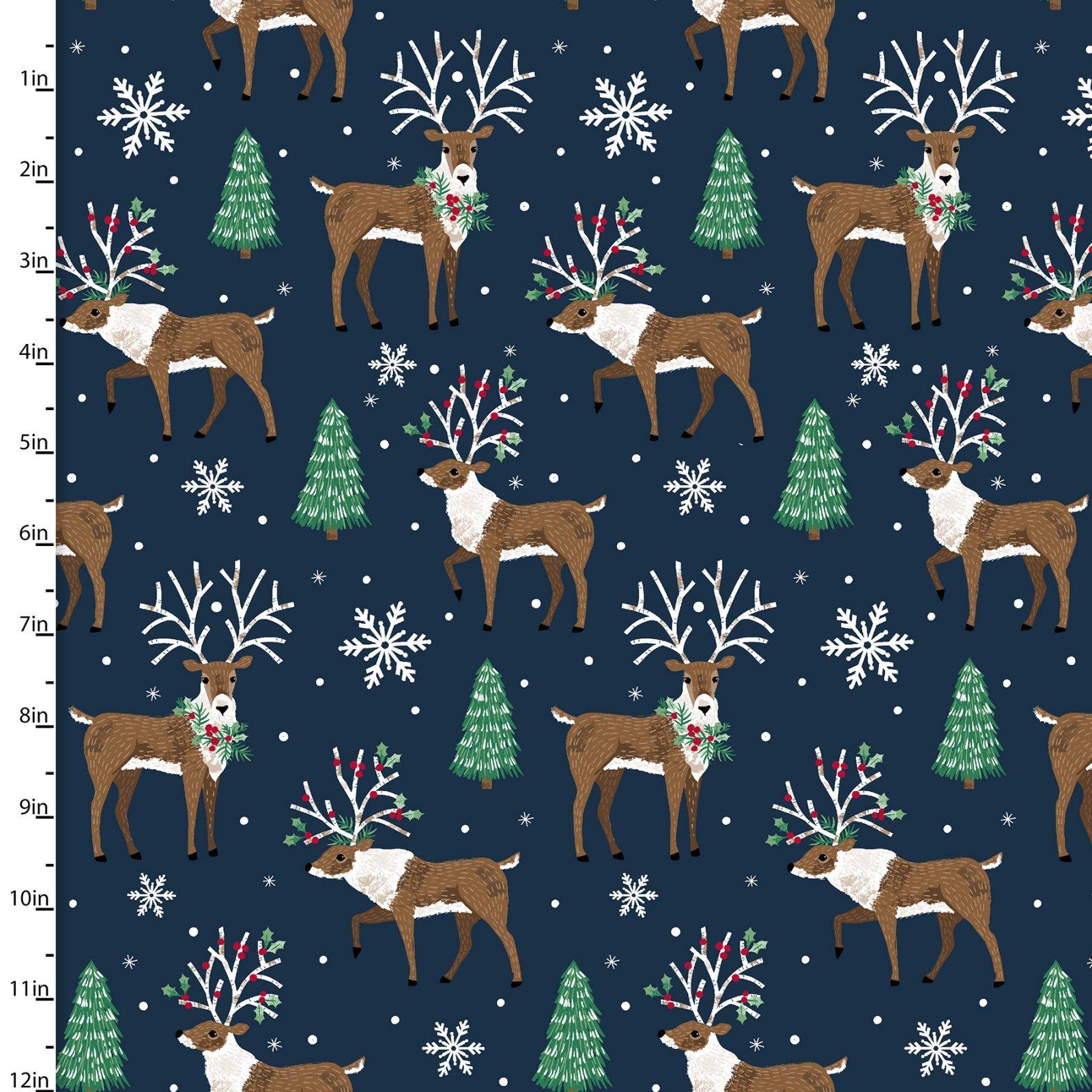 Believe 18090 Reindeer Navy