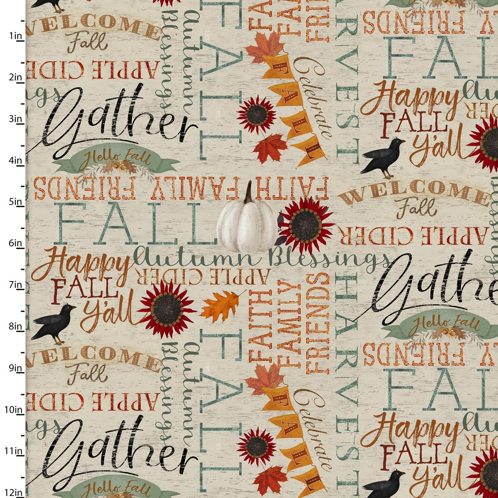 Happy Fall 18119 Words Beige