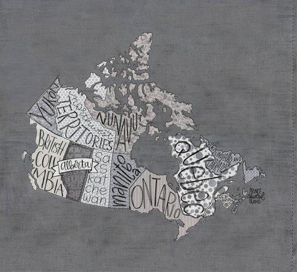 Metropolis 30570-11 Canada Panel