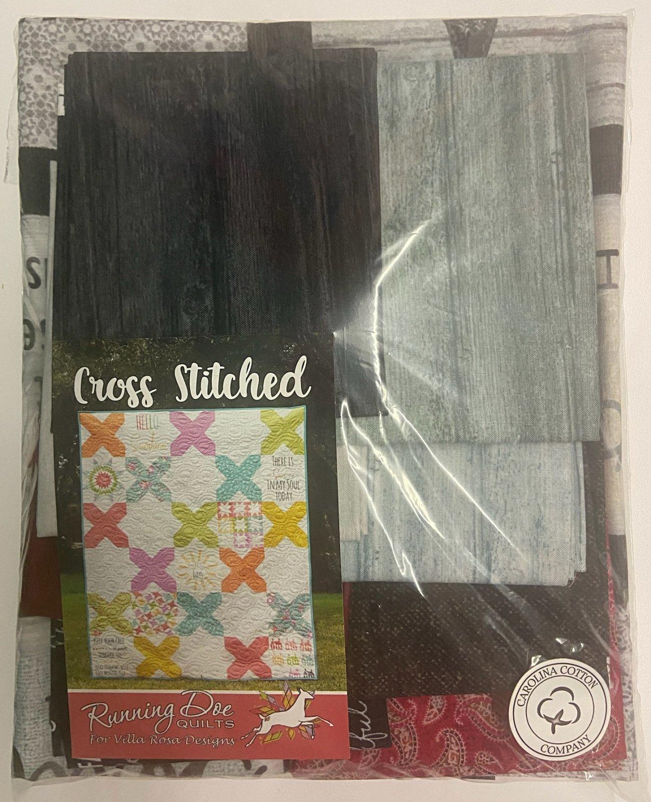 Cross Stitched Mid Carolina Run 2021 Quilt Kit
