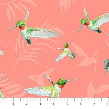 Island Sun 22625-21 Hummingbirds Coral