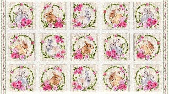 Bunny Love 22761-11 24 Panel