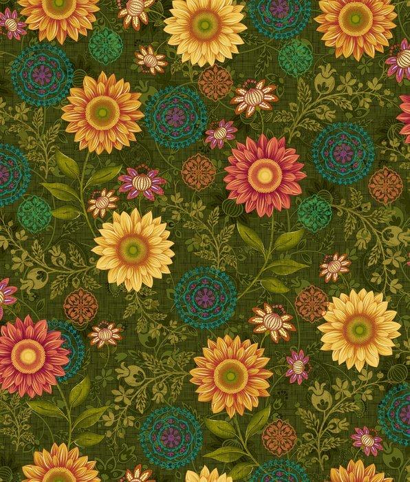 Autumn Elegance 2277-68 Floral Forest