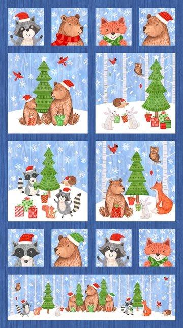 Bearly Christmas 22804 Panel