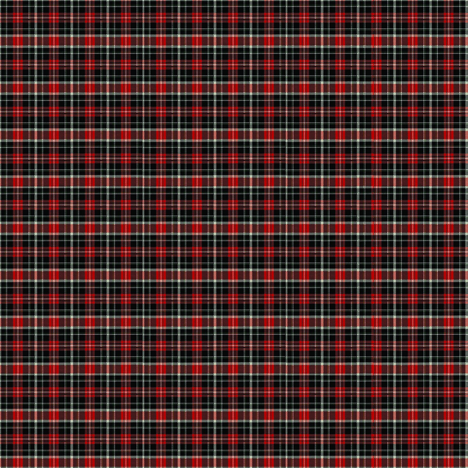 Cardinal Woods 22839-24 Red/Black Plaid