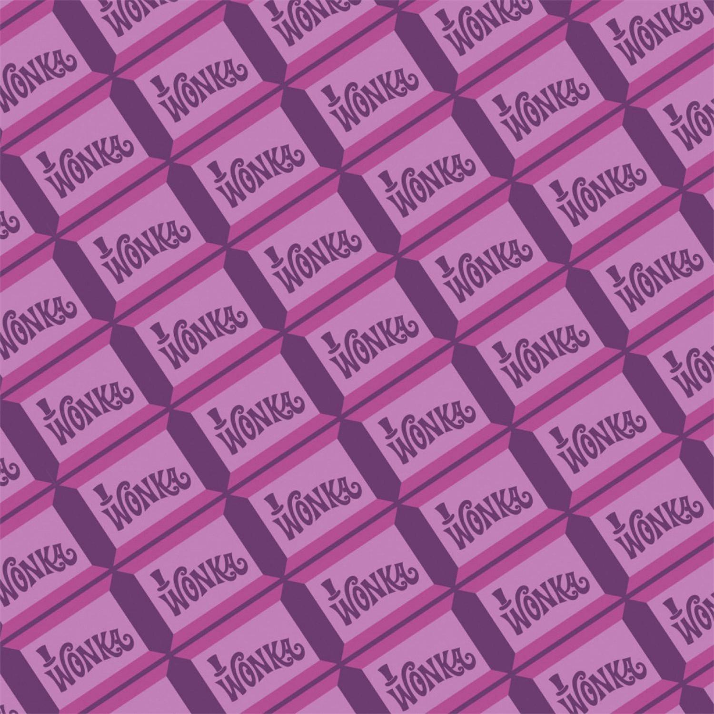 Willy Wonka 23230109-1 Purple Chocolate Bar