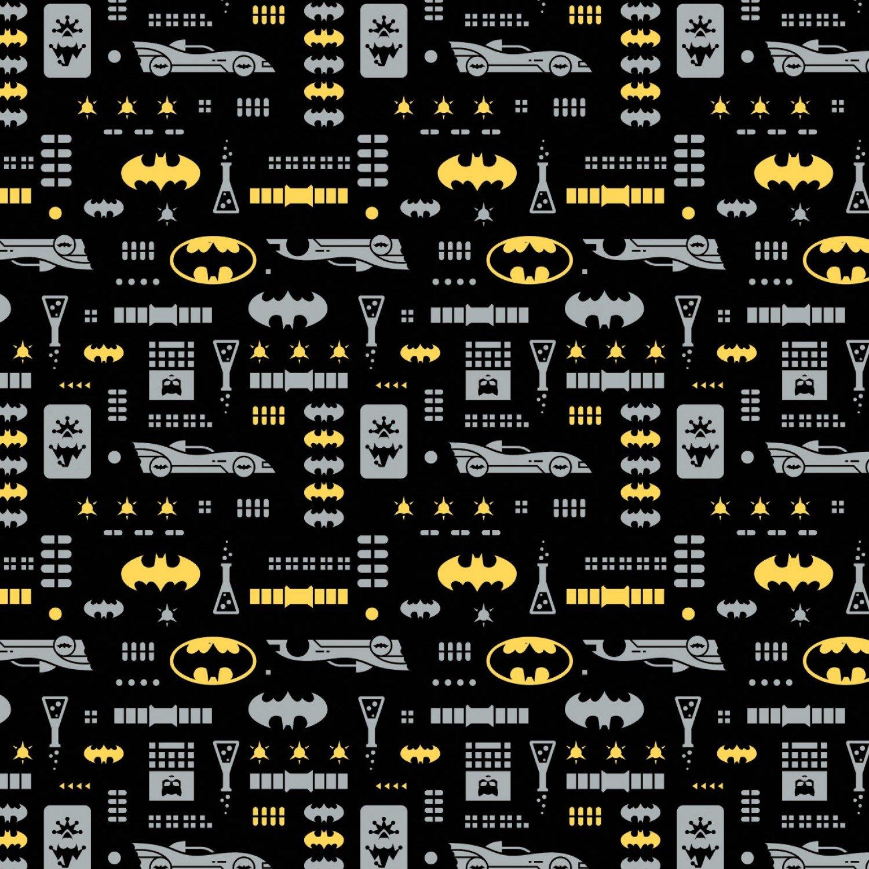 DC Comics Batman 23421470-3 Icons Black