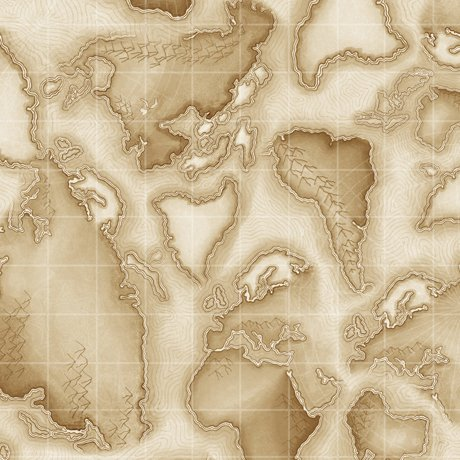 Aviator World Map Tan 24756 E