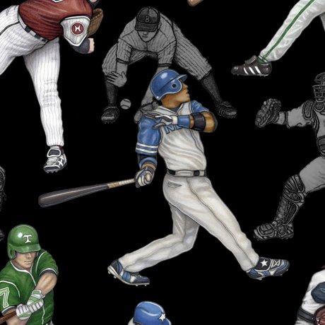 END OF BOLT - Grand Slam Baseball 24908 J Players Black .74 YD