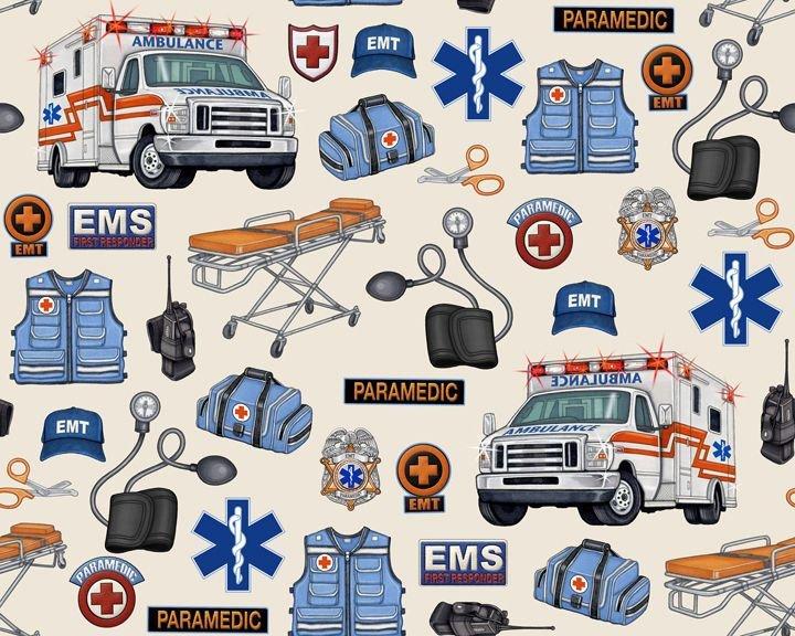 Medical EMS Gear 24924-E Cream