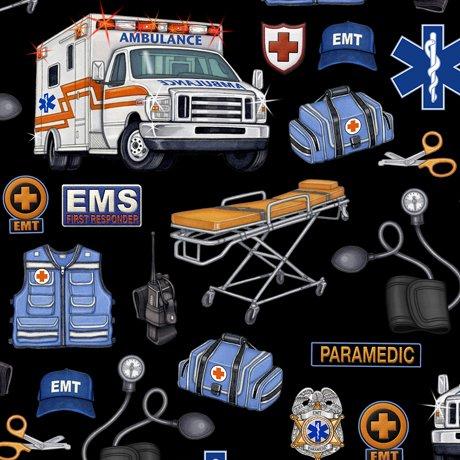 Medical EMS Gear 24924-J Black