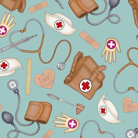 Medical Nurse Toss 24926-Q Aqua