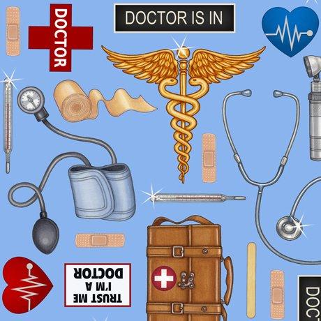 Medical Doctor Tools 24928-B Blue