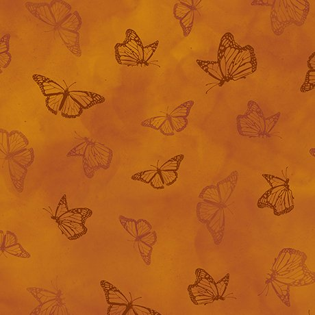 Serenity Prayer 25827T Rust Butterfly Toile