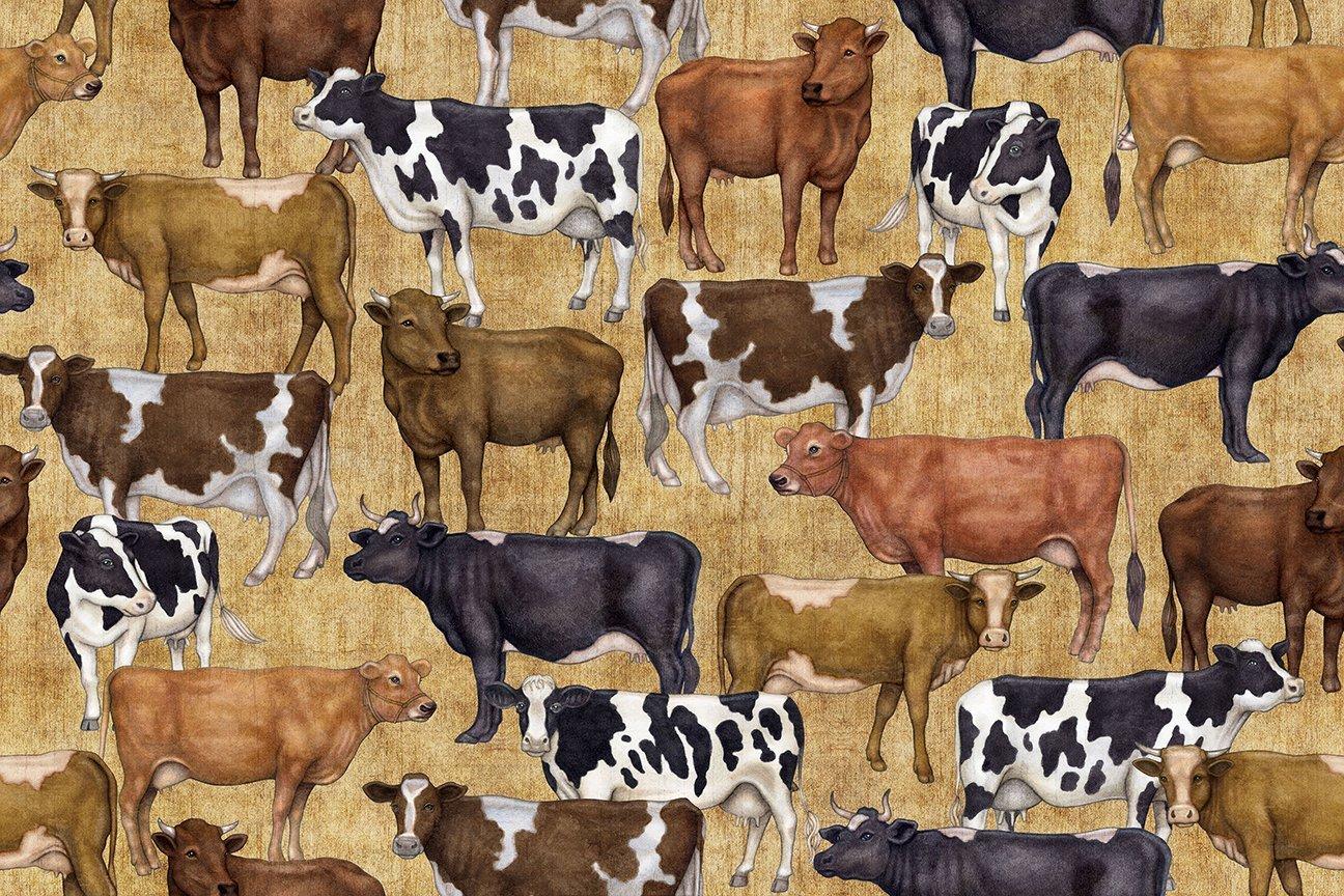 Bountiful Cows 25978A Tan