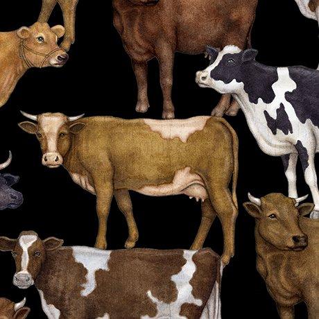 Bountiful Cows 25978J Black