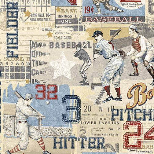 Game Time 2601-50 American Pastime Light Blue