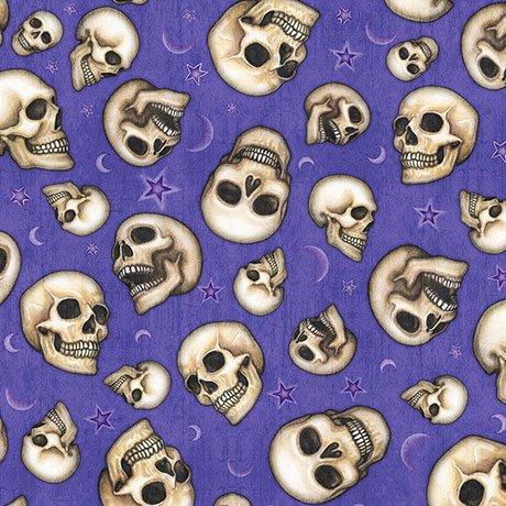 Spellbound 26613-V Skulls Violet