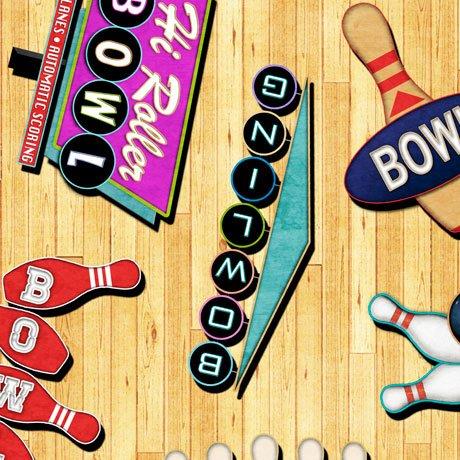 Bowling 26700-S Retro Signs