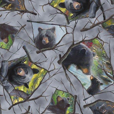 Black Bears 26823-K Grey