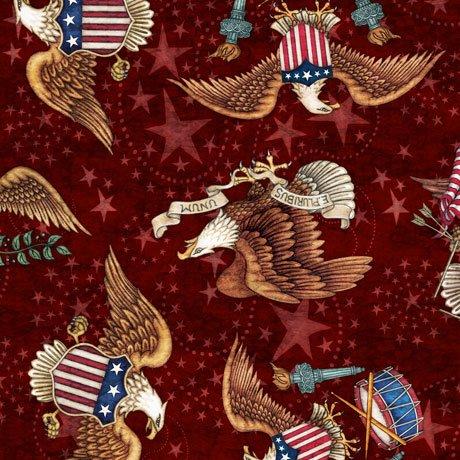 American Pride 26976-M Eagles on Maroon