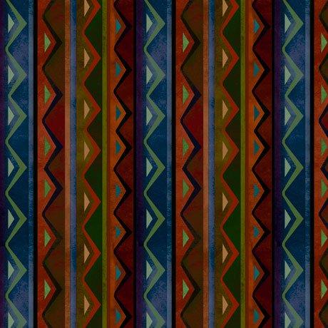 In the Wilderness 27157-B Stripe Blue