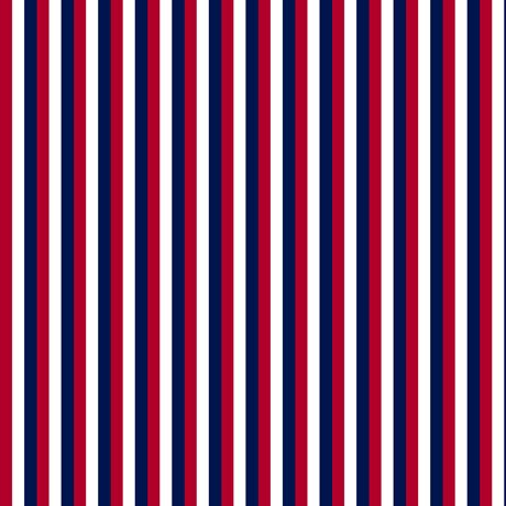Red Navy White Stripes 27231-RN