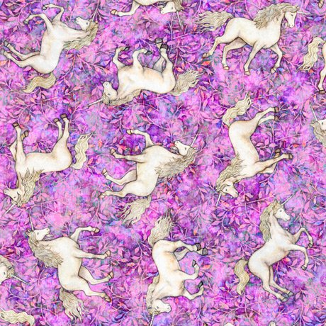 Mystical Unicorns 27379-P Purple