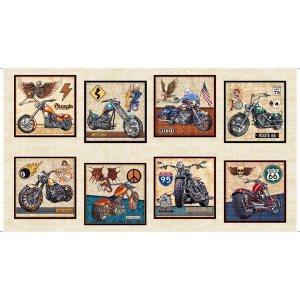 Easy Rider Motorcycle 27480-E Cream Panel